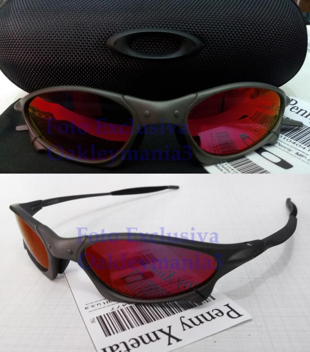 c4d6f9218ab00 oculos oakley penny xmetal lente dark ruby polarizada + case. Carregando  zoom.