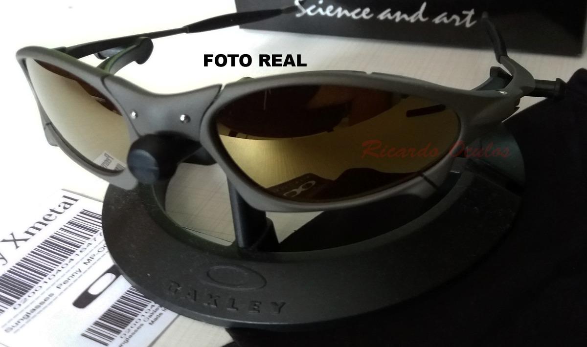 738a02bc7 ... shop oculos oakley penny xmetal lente dourada 24 polarizada usa. carregando  zoom. fc07e 10deb usa Óculos oakley holbrook xl polished black ...
