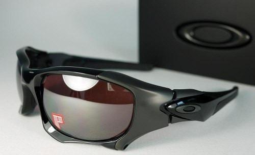 Óculos Oakley Pit Boss 2 - Polished Iridium Black Polarized - R  799 ... 45f8c5de06