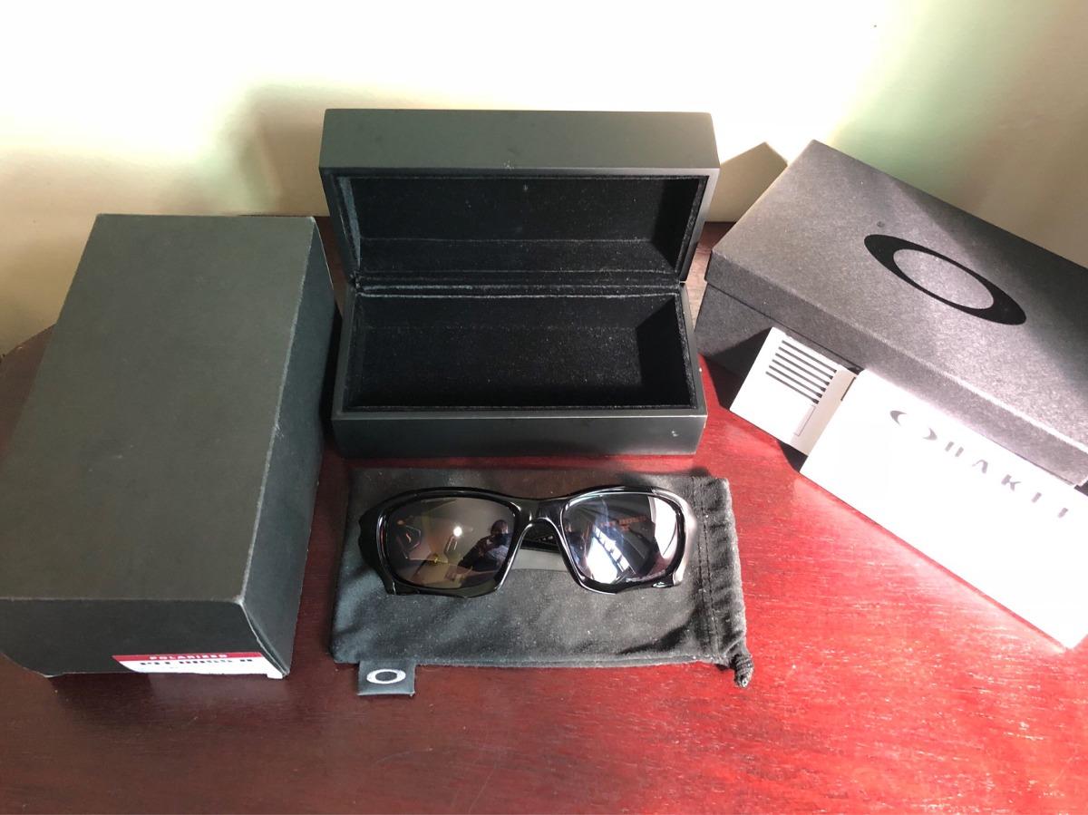 f27479461 óculos oakley pit boss ii black lentes vr28 polarizado. Carregando zoom.