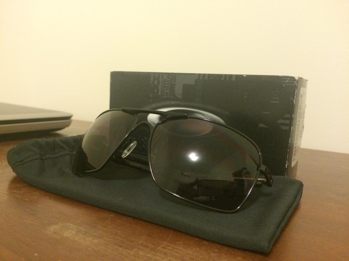 Oculos Oakley Plaintiff Squared Black grey Polarized - R  470,00 em ... 9c73257688