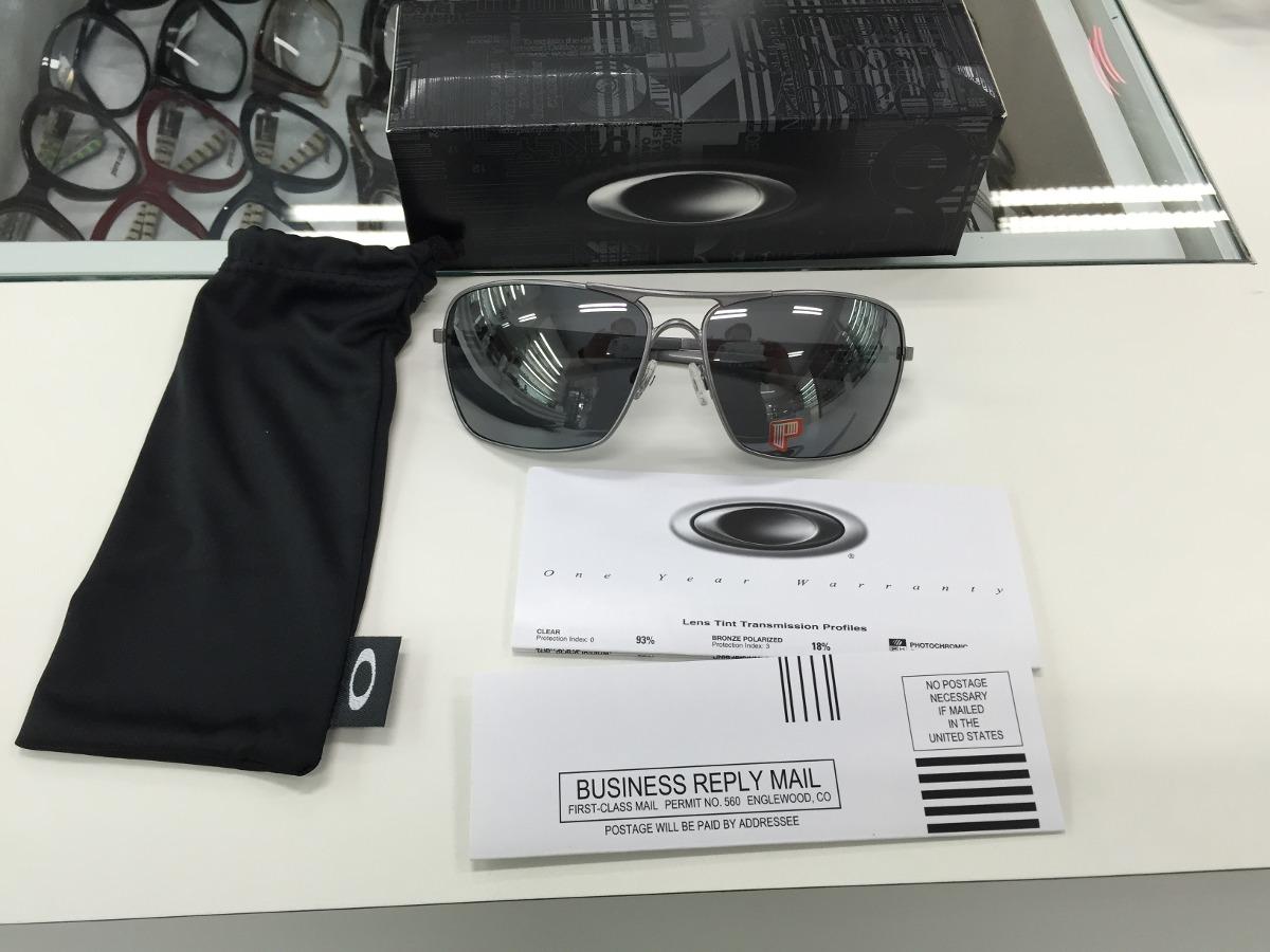 oculos oakley plaintiff squared polarizado oo4063l -09. Carregando zoom. d8f3d03d77