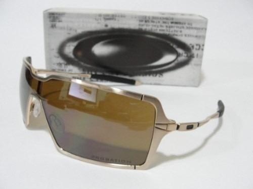 611a4ed7efcd7 Óculos Oakley Probation Dourado Polarizad Original Cod047843 - R ...