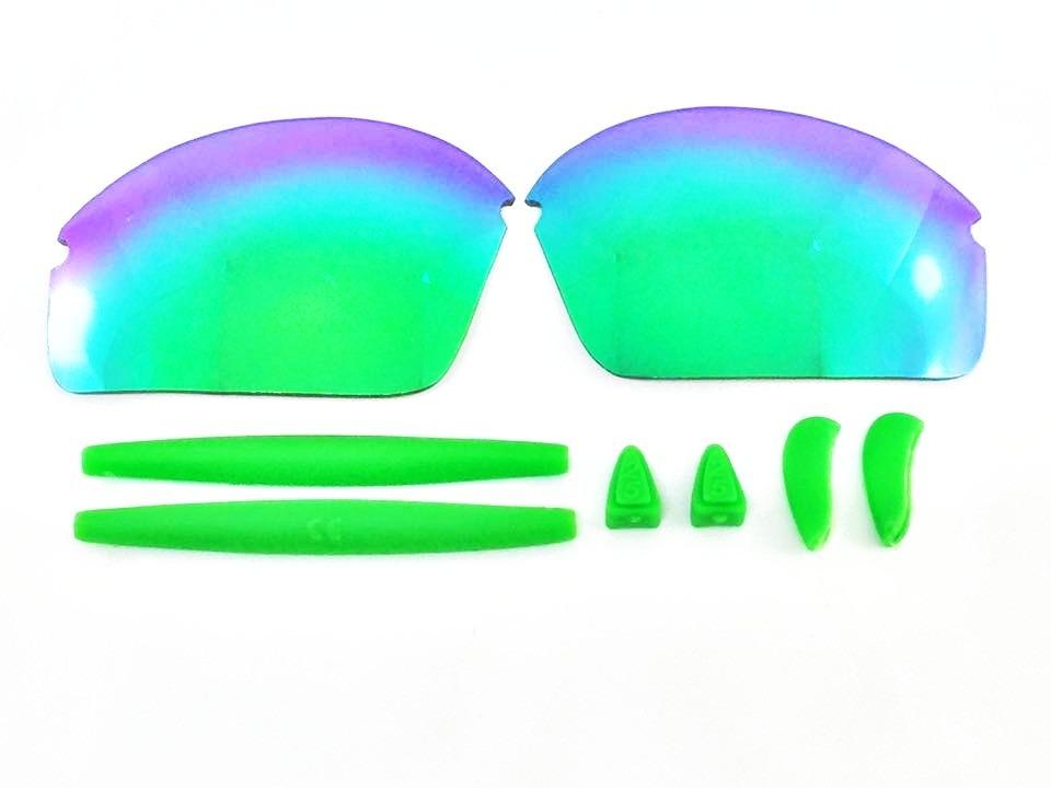 15a70c4f48f5e óculos oakley r2 lente corte custom varejeira borracha verde. Carregando  zoom.