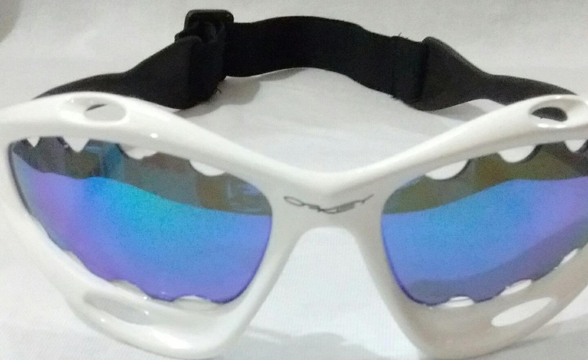 0fb2f3e831c02 Óculos Oakley Racing Com Alça + Par De Lentes Avulsa - R  199