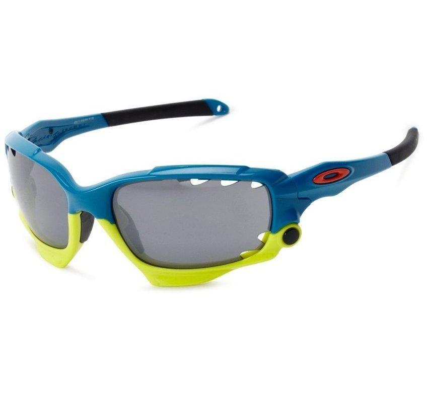 oculos oakley racing jacket oo9171-15 azul 2 pares de lentes. Carregando  zoom. 5c0a6479428