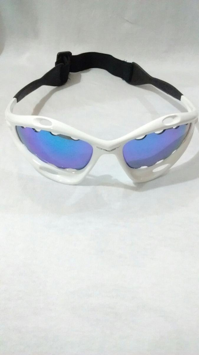 1ca378a3bbdc0 Óculos Oakley Racing Water Jacket Com Alça - R  189,99 em Mercado Livre