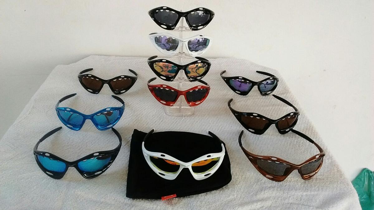 038de1ef00a58 Óculos Oakley Racing Water Jackt - R  100,00 em Mercado Livre