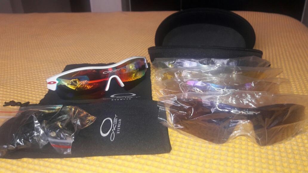 e68a50a34a46d Óculos Oakley Radar Ev Pitch  5 Lentes. - R  350,00 em Mercado Livre