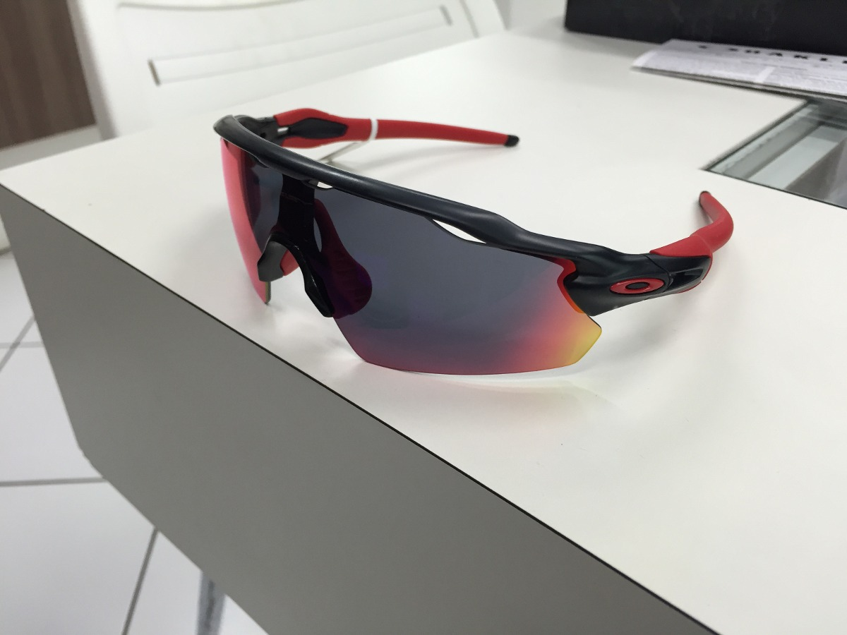 3a295811e ... cheap oculos oakley radar ev pitch oo9211 02 matte black red iri. carregando  zoom.
