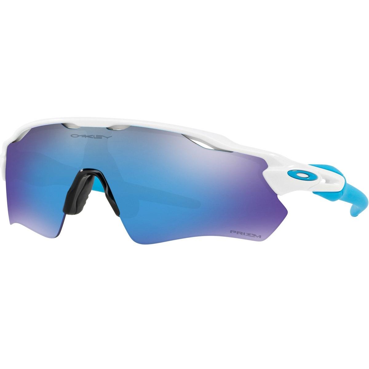 7732526730026 óculos oakley radar ev white   prizm sapphire - cut wave. Carregando zoom.