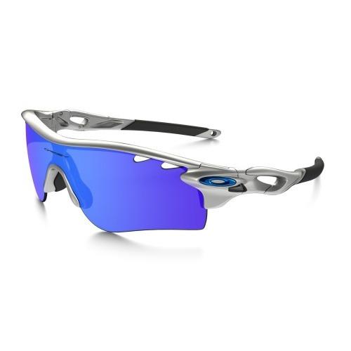 ba90d5695 Óculos Oakley Radarlock Path Silver/ice Iridium Vtd & Vr28 - R$ 902 ...