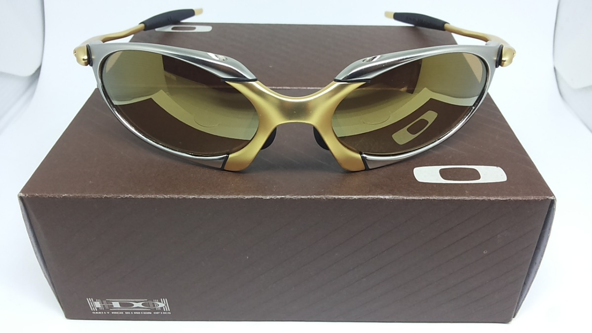 óculos oakley romeo 1 2 24k juliet squared double xx gold. Carregando zoom. 2f410f2274