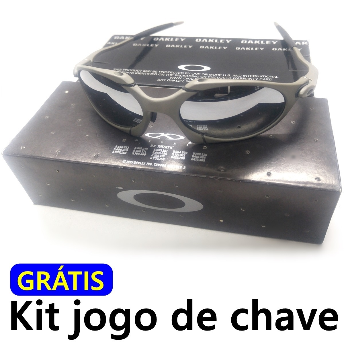 Óculos Oakley Romeo 1 2 Liquid Metal Só R  89 7feb05fcf0fff