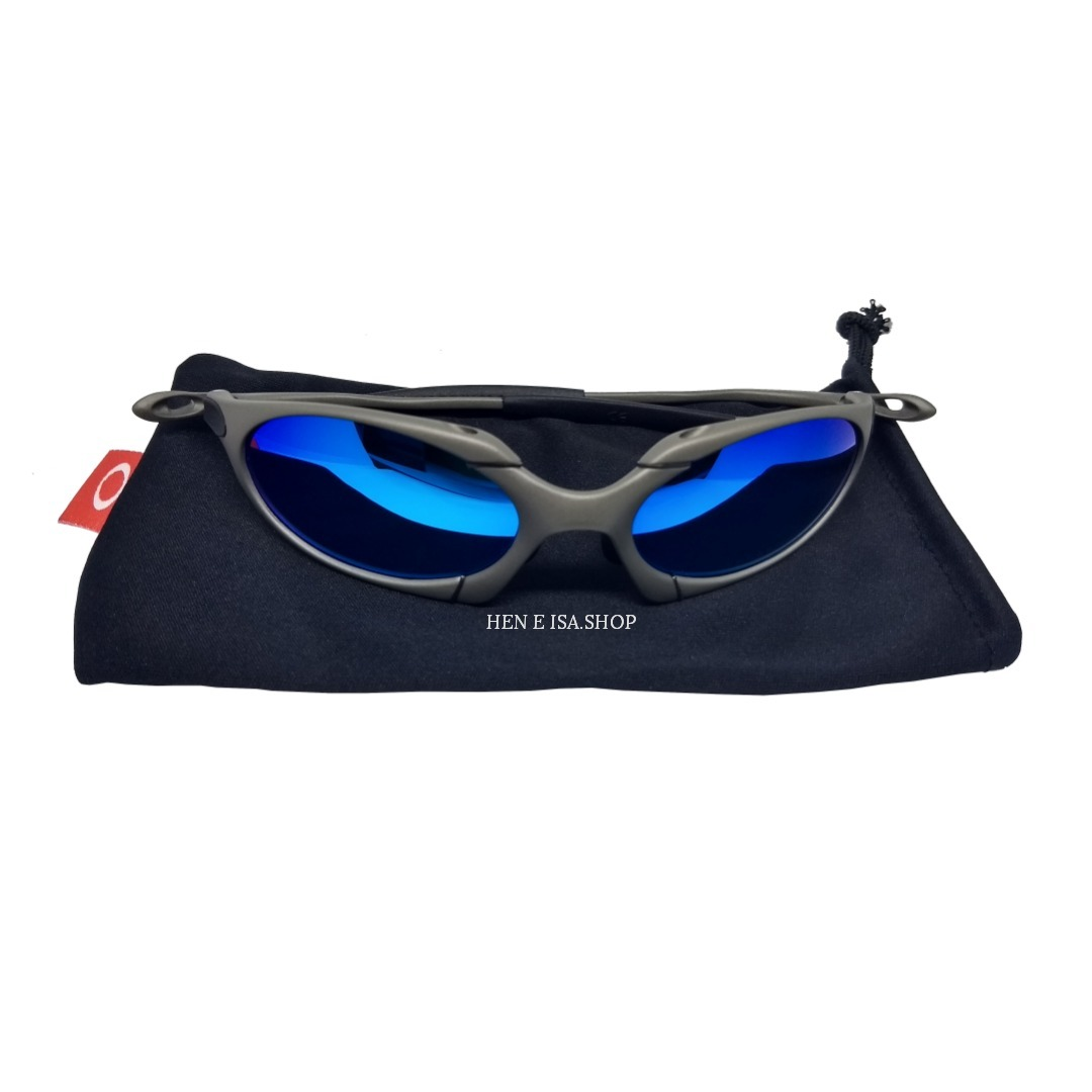 Oculos Oakley Romeo 1 Azul Bebê + Certificado+teste 12x S ju - R  89 ... 559afeaec8