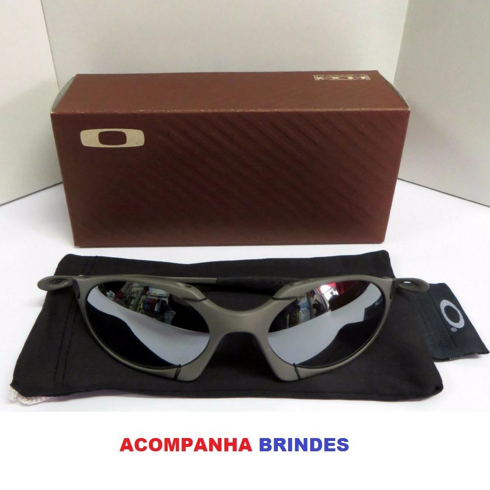 30371166b1d39 oculos oakley romeo 1 cinza + teste lente + certificado. Carregando zoom.