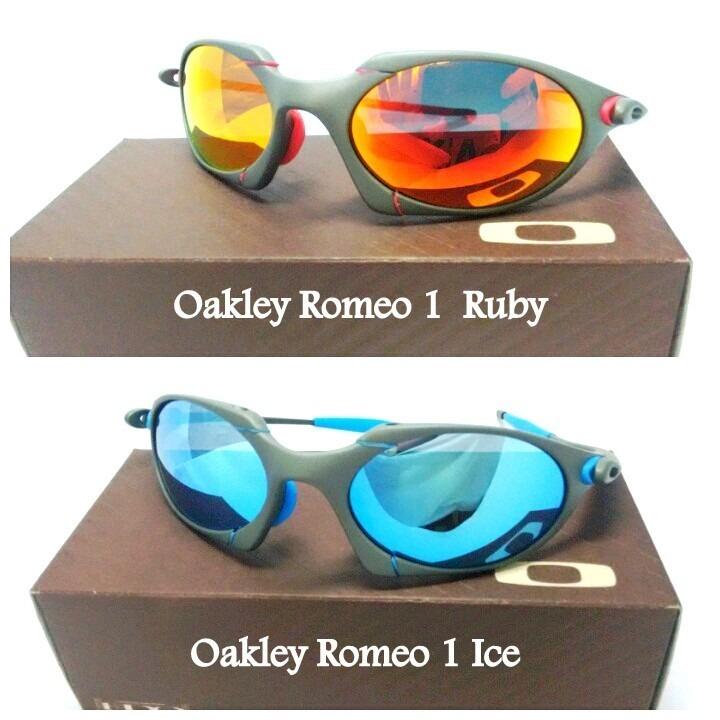 f4012b173 Oculos Oakley Romeo 1 Ice Ou Ruby Top Promoção 12x Top - R$ 120,00 ...