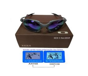 8e52e16a2 Borrachinha Juliet Roxa De Sol Oakley - Óculos no Mercado Livre Brasil