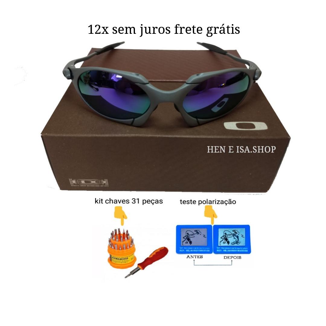 d23531e086e9a Oculos Oakley Romeo 1 Roxa + Chaves+teste+frete 12x S juros - R  120 ...