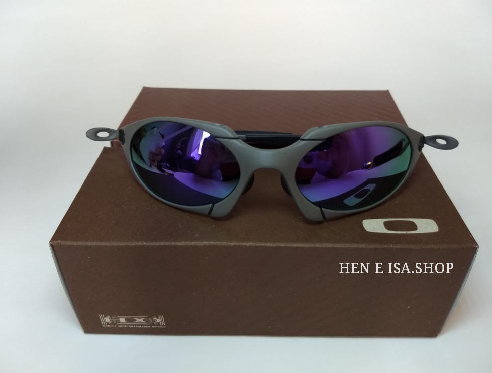 55a60d0a0 Oculos Oakley Romeo 1 Roxa + Chaves+teste+frete 12x S/juros - R$ 120 ...