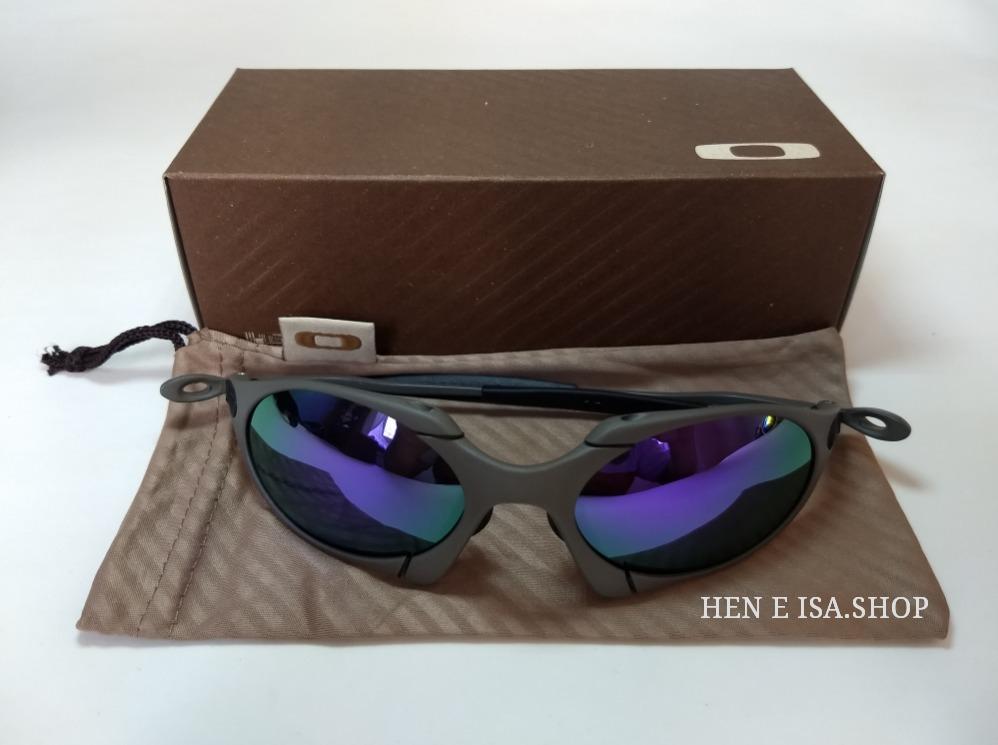 79e4e9845 Oculos Oakley Romeo 1 Roxa + Chaves+teste+frete 12x S/juros - R$ 120,00 em  Mercado Livre