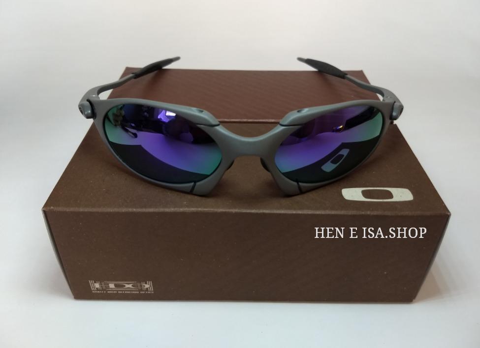 6dc704fa7 Oculos Oakley Romeo 1 Roxa + Chaves+teste+frete 12x S/juros - R$ 120,00 em  Mercado Livre