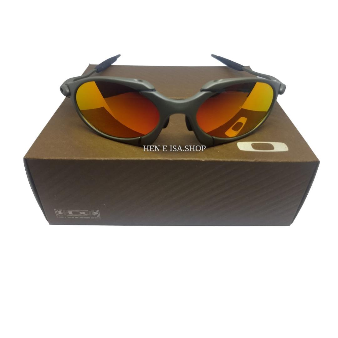 c8d39df3c6777 Oculos Oakley Romeo 1 Ruby +teste + Certificado - R  85,00 em ...