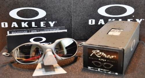 6b16849b0e Oculos Oakley Romeo 1 X Metal Black Iridium Michael Jordan