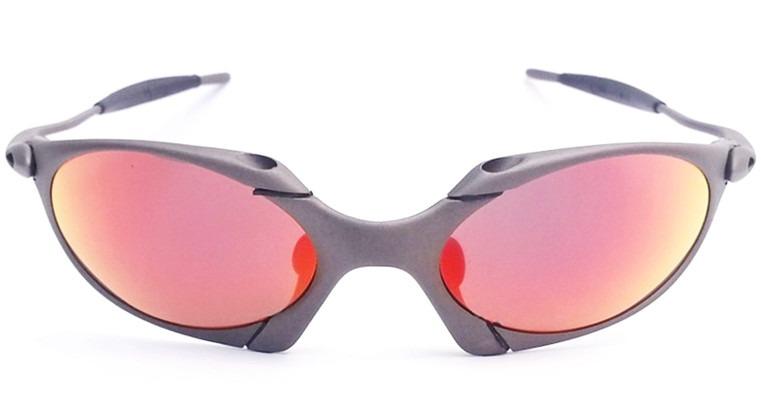 dc06d935fb726 Oculos Oakley Romeo 1 X Metal Dark Ruby Numerado Titanium - R  2.600 ...