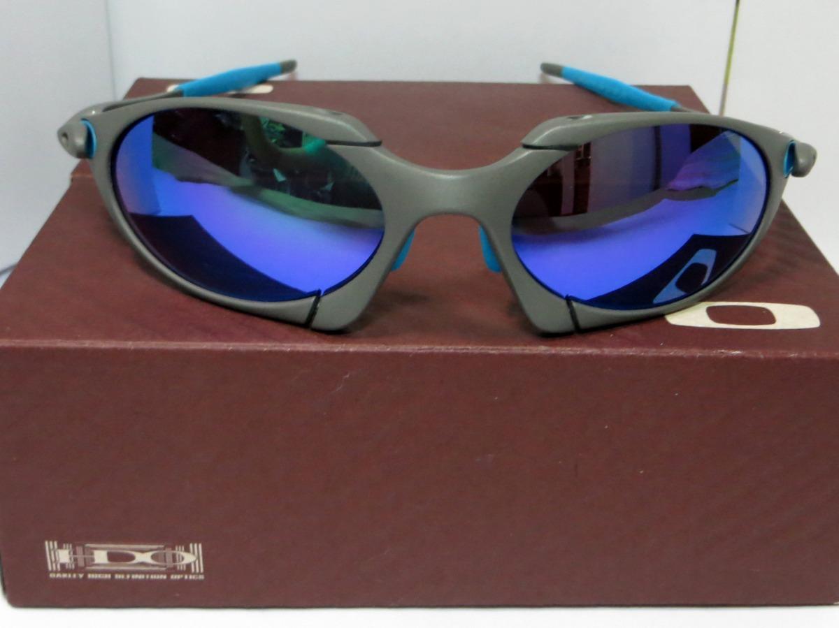 4447463e4 Óculos Oakley Romeo-1 Xmetal Black Iridium Mais Estojo Barat - R$ 175,00 em  Mercado Livre