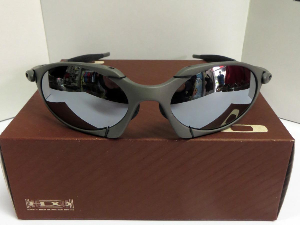 e10ff8a21 Óculos Oakley Romeo-1 Xmetal Black Iridium Mais Estojo Barat - R ...