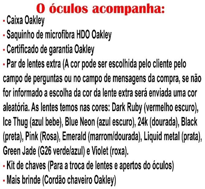 68afeb2c92d1a Óculos Oakley Romeo 1   Xmetal   Clear Azul + Par De Lentes - R  179 ...