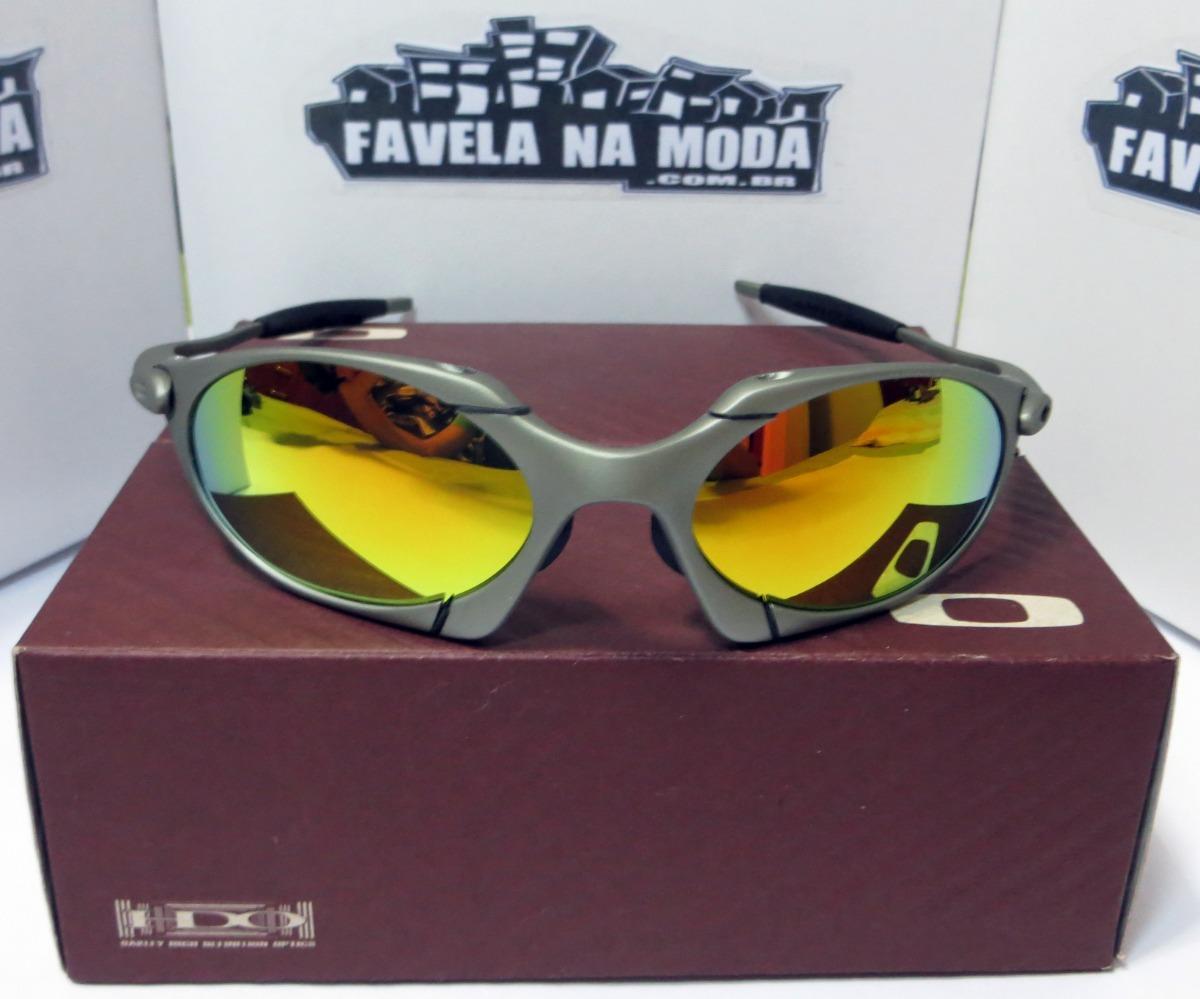 d3d793f6359b7 óculos oakley romeo 1   xmetal   gold + par de lentes extra. Carregando  zoom.