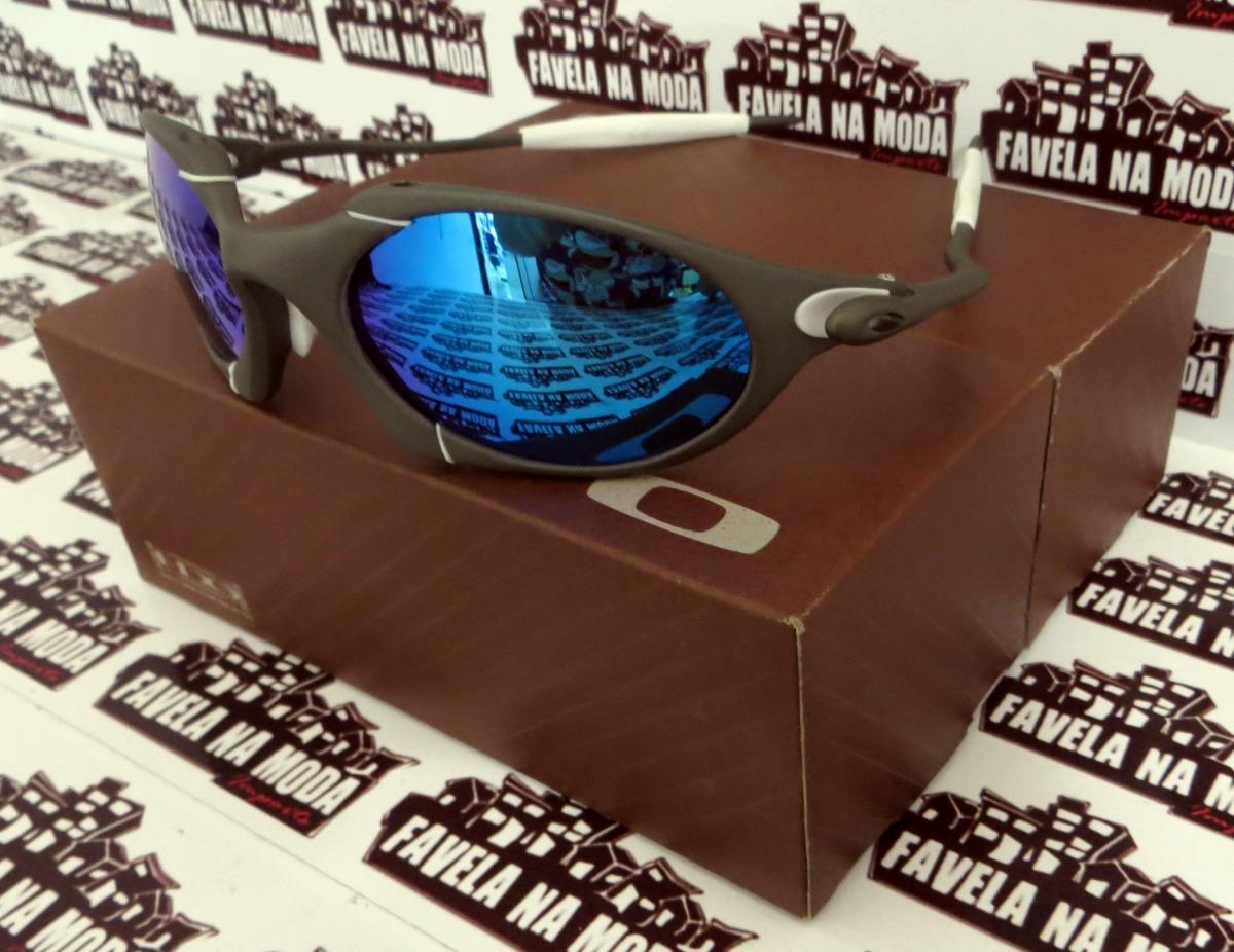 f7a855646df89 óculos oakley romeo 1   xmetal   ice thug + par de lentes. Carregando zoom.