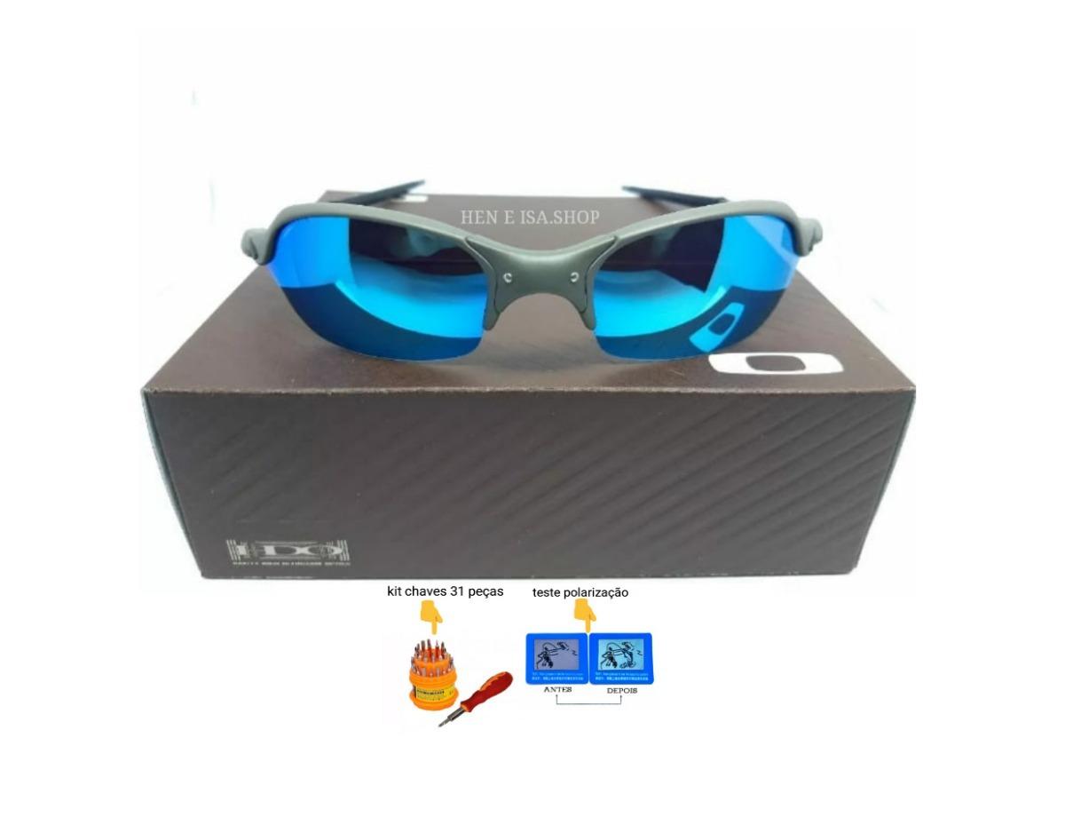 3e656c5e516b8 Oculos Oakley Romeo 2 Azul Bebe +teste+chaves 12x S ju - R  99