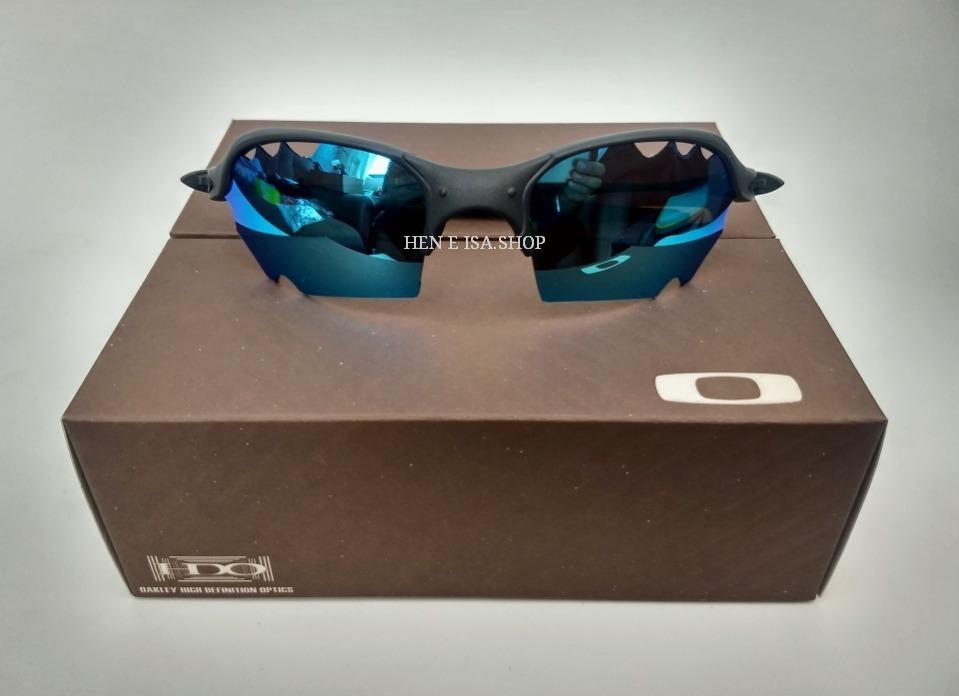 ec1a1857d42d8 Oculos Oakley Romeo 2 Parriot Azul Bebe +teste+certificado - R  95,00 em  Mercado Livre