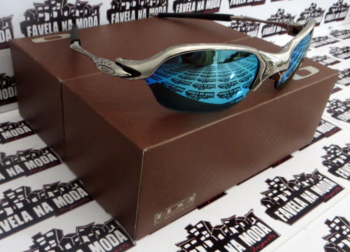 6835ac175ee79 óculos oakley romeo 2   polished   ice thug + par de lentes. Carregando  zoom.