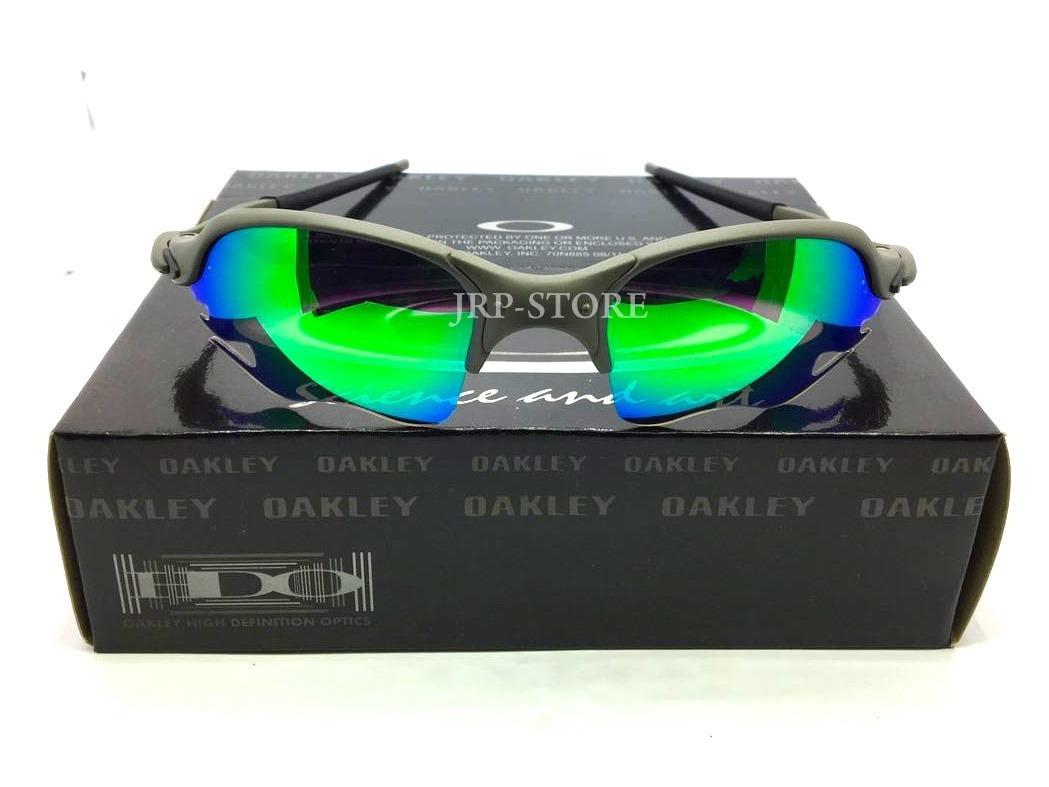 e54c30af067ac oculos oakley romeo 2 x metal flame verde g26 polarizadas. Carregando zoom.