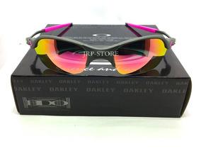 18f430e22 Oculos Da Oakley Juliet Juju Romeo Com Lente Rosa - Óculos no ...