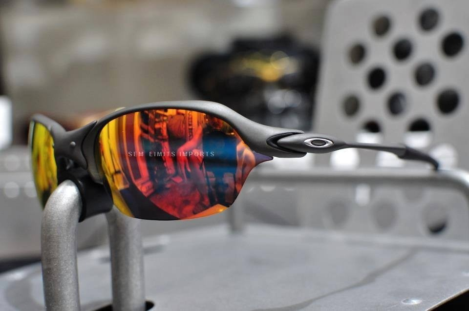 dbadc65b84dfa Oculos Oakley Romeo 2 X Metal Ruby - R  1.700