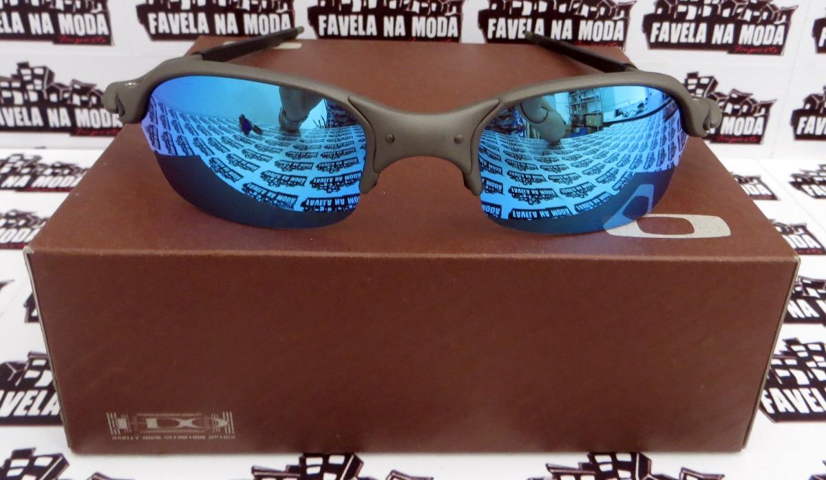 f1eb893a5dad1 óculos oakley romeo 2   xmetal   ice thug + par de lentes. Carregando zoom.