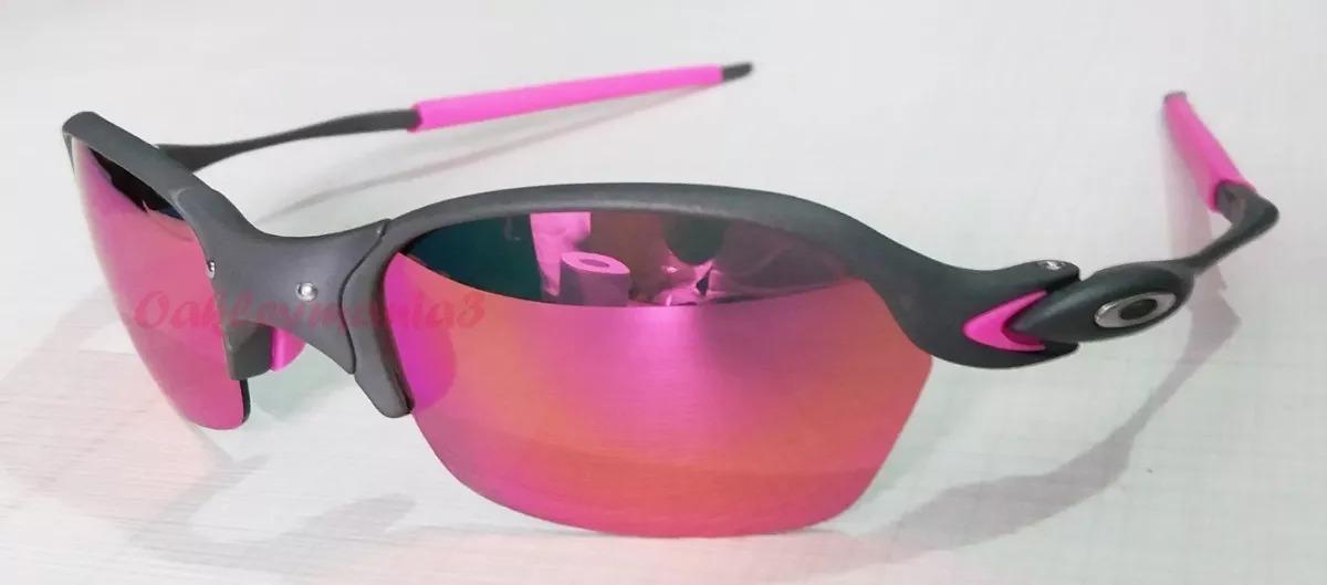 5eff9ddc9ef0f oculos oakley romeo 2 xmetal lente rosa pink borrachas rosa. Carregando  zoom.