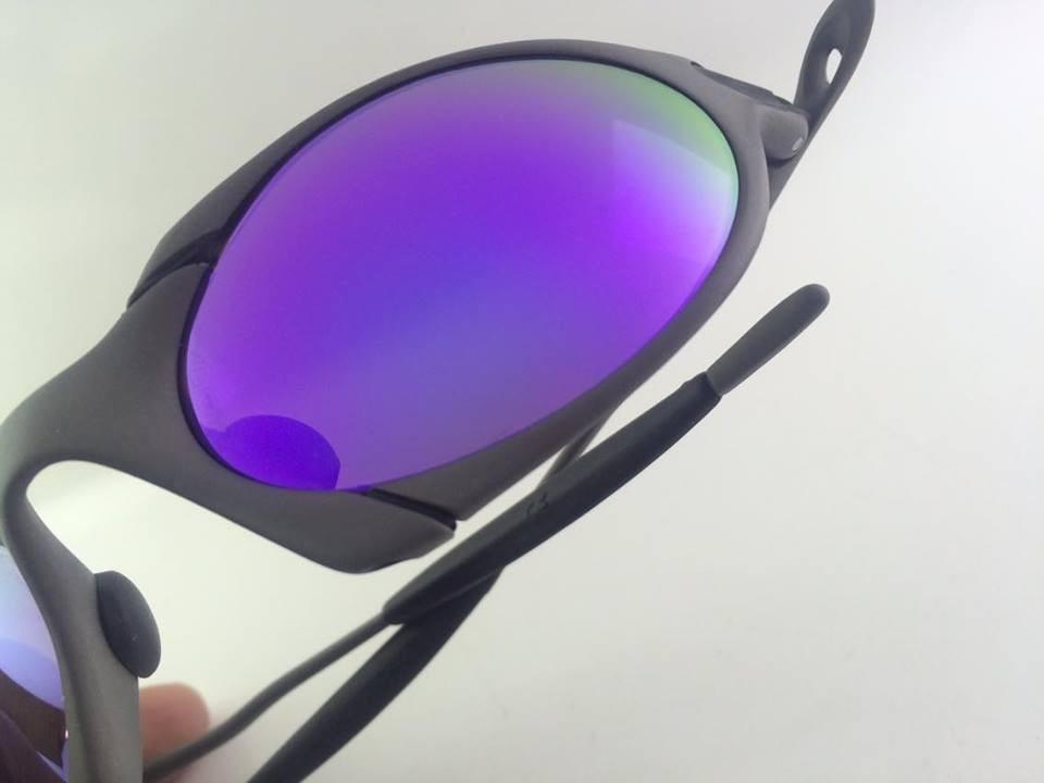 óculos oakley romeo1 xmetal violet original. Carregando zoom. c98418c183a