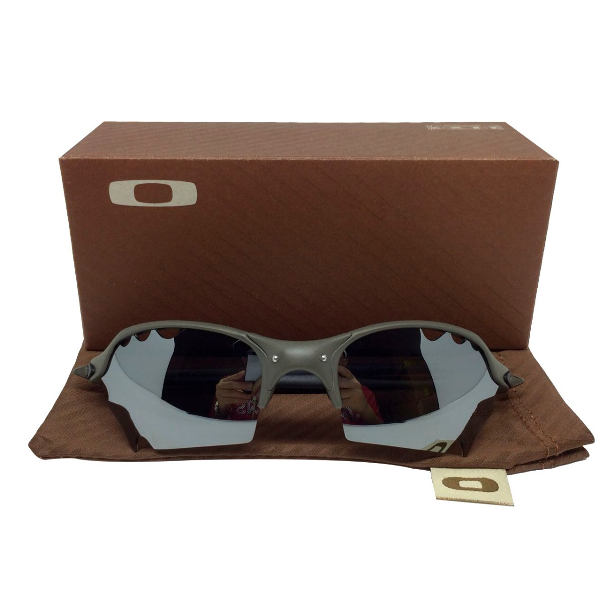 fa6ccc8487637 Óculos Oakley Romeo2 Parriot Vendet Cinza Lente Preta - R  159,99 em ...