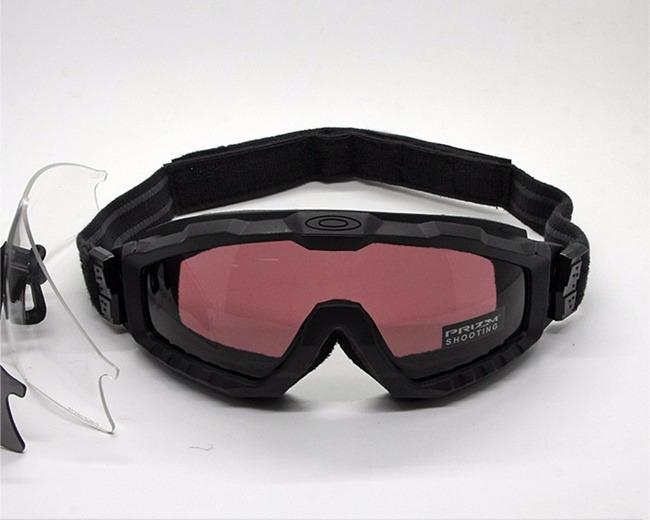 3d97b4581b6a8 Óculos Oakley Si Ballistic M Frame Alpha Kit Na Caixa! - R  420