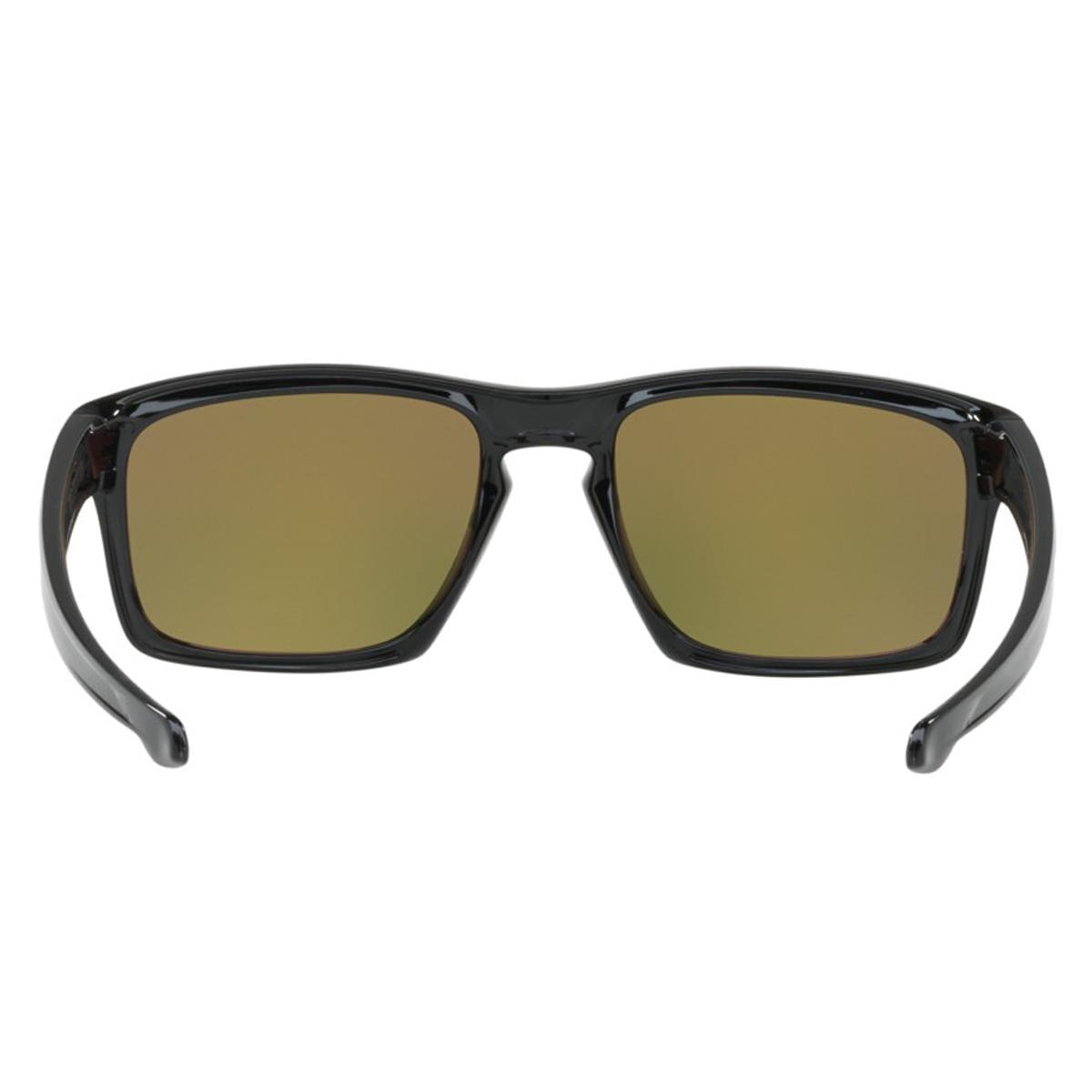9a8176314d6f2 Óculos Oakley Sliver Polished Black   Lente Fire Iridium Edi - R ...