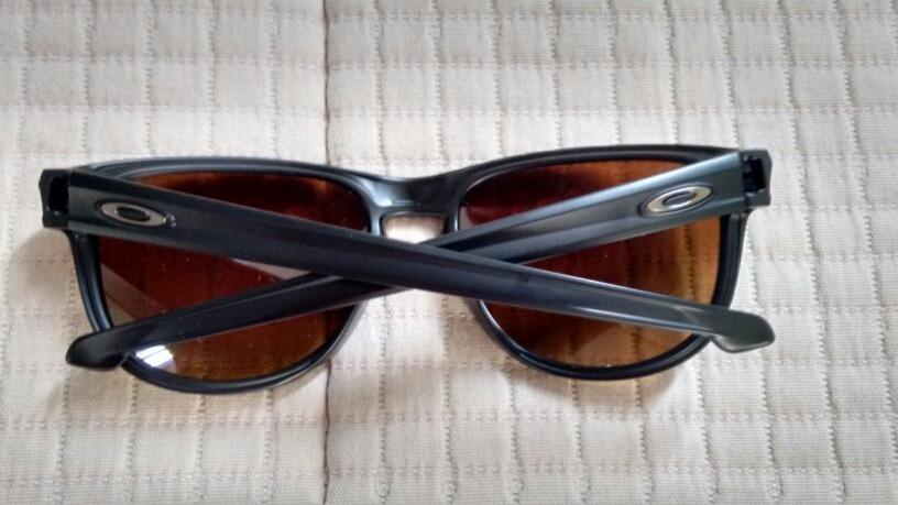 1f79e0908bb0c oculos oakley sliver r polarizado preto com lente marrom. Carregando zoom.