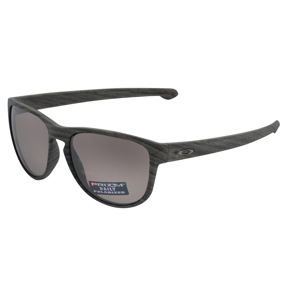 4946768d795de óculos oakley sliver r woodgrain prizm polarizado chumbo. Carregando zoom.