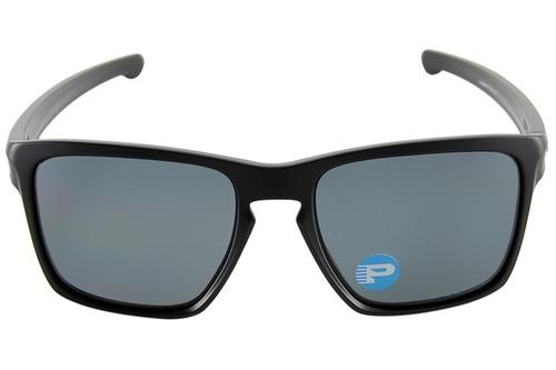 26a40d810b Óculos Oakley Sliver Xl Matte Black Grey Polarized Oo9341 01 - R ...