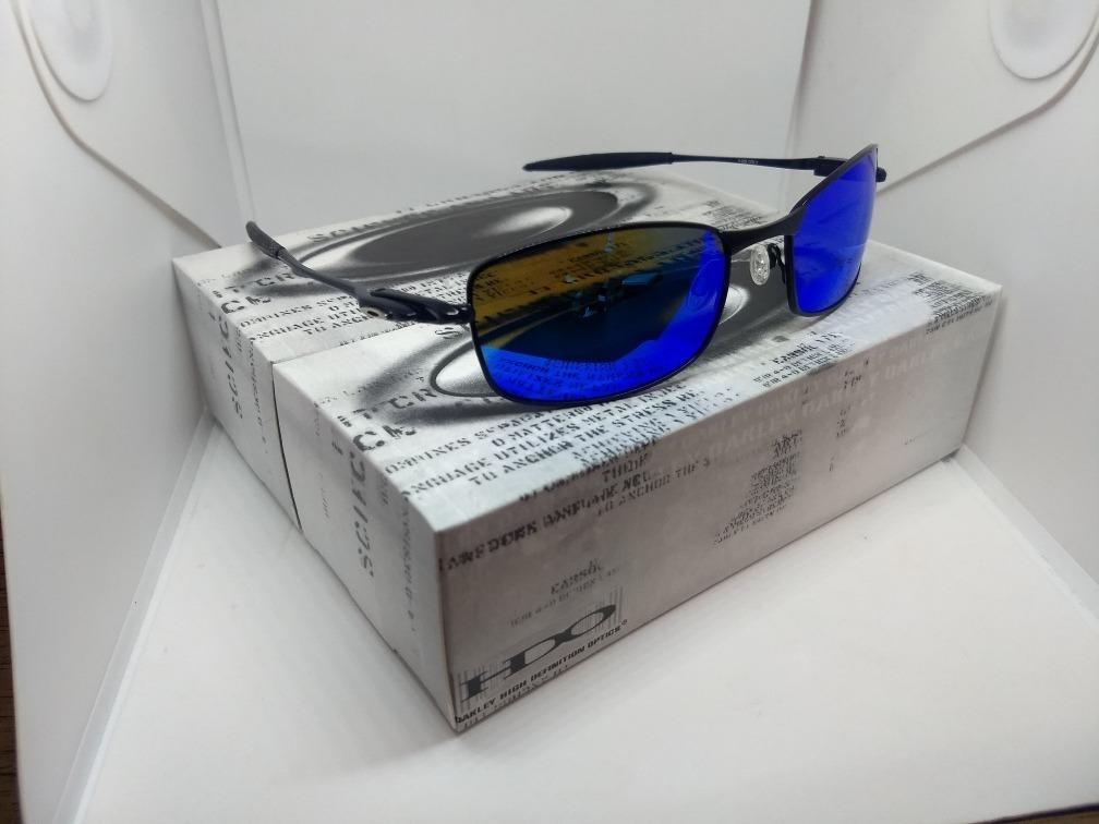 óculos oakley square whisker - lentes polarizadas - novo. Carregando zoom. 582c557efd